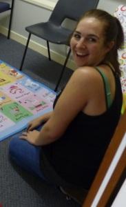 Lauren in the Lab